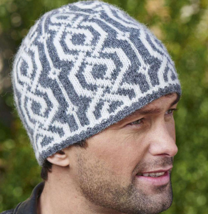 Fair isle hat knitting pattern free