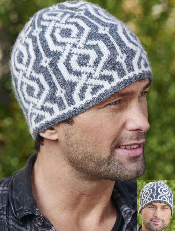 Babies Hats Knitting Patterns : Fair isle hat knitting pattern free