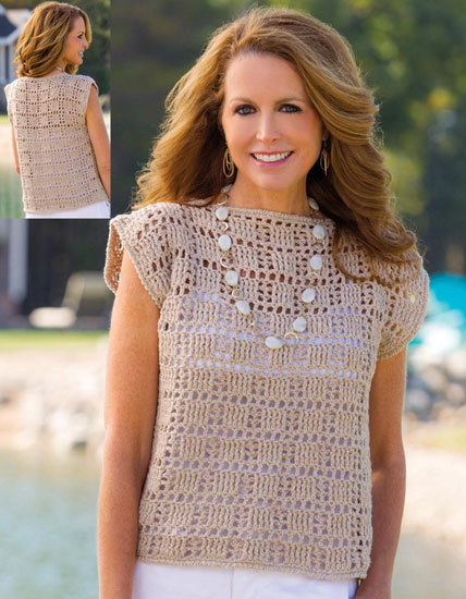 Women's top crochet pattern
