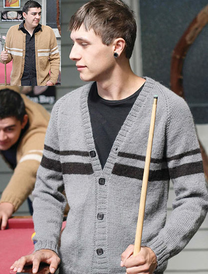 Men's cardigans knitting patterns