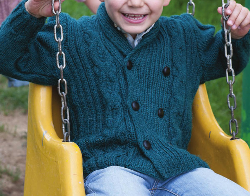 Free Knitting Patterns For Childrens Jackets : Childrens jacket knitting pattern free