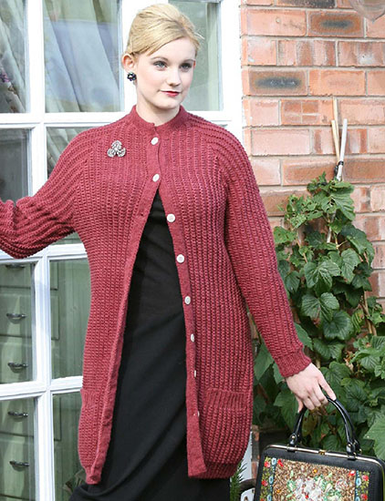 Women's cardigan knitting pattern