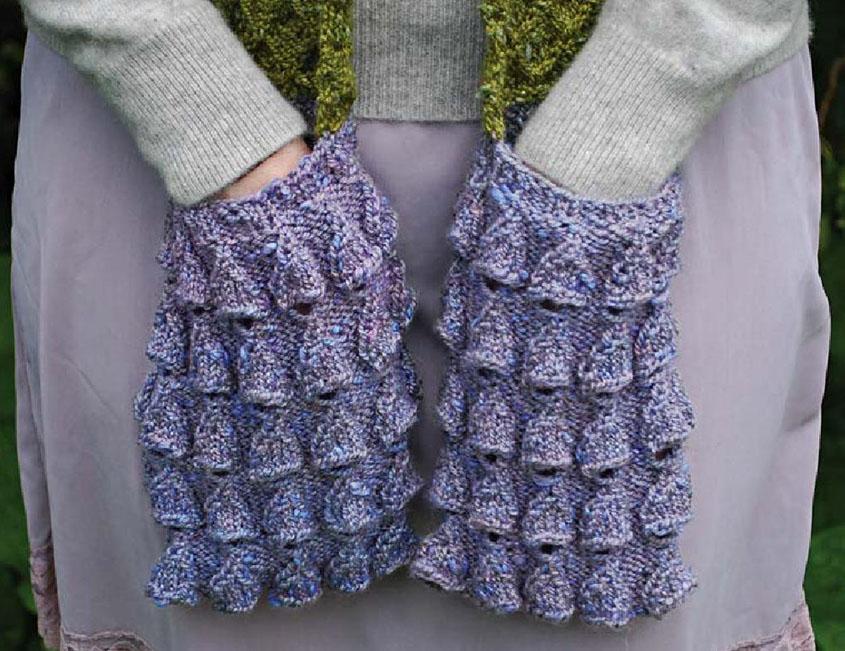 Knitted Pocket Scarf Pattern : Pocket scarf knitting pattern