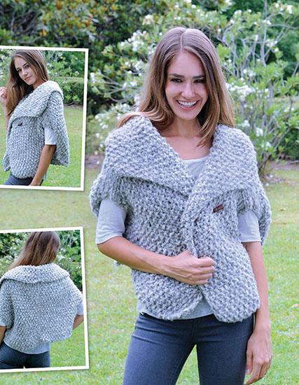 Free Vests Knitting Patterns