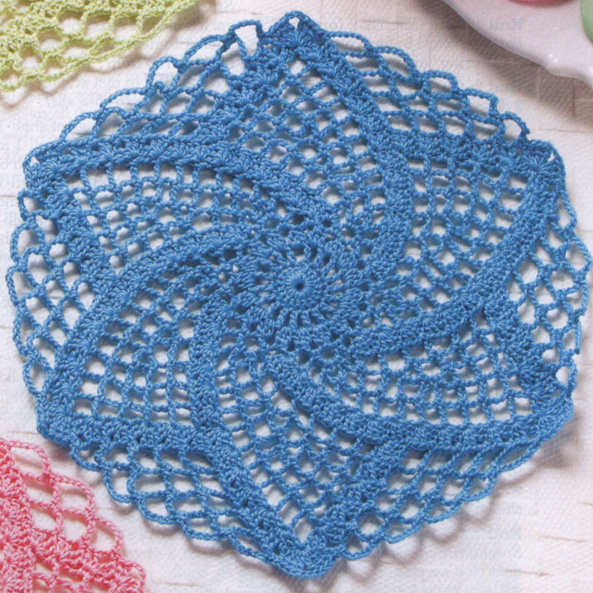 Crochet Lace Doilies Patterns Free
