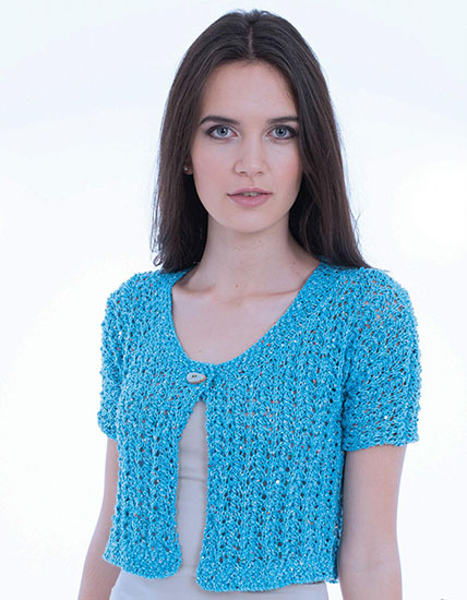 Women's jacket knitting pattern