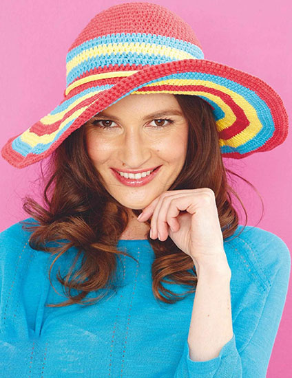 Women's sun hat crochet pattern