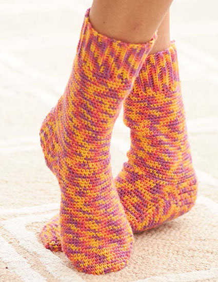 Socks crochet pattern