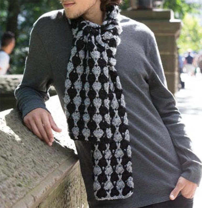 Men S Scarf Crochet Pattern
