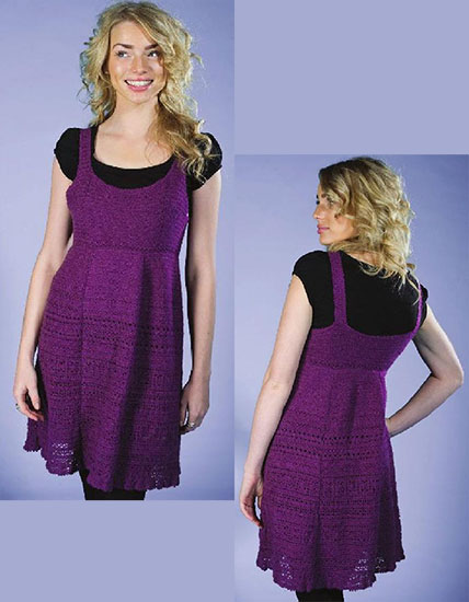 Women's dress chochet pattern