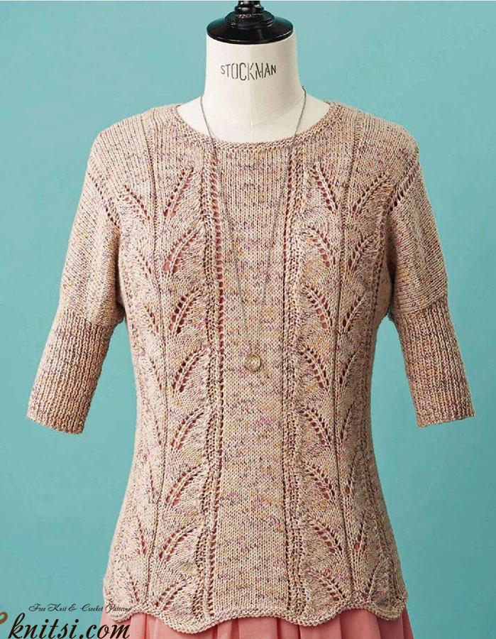 Knitting Jumper Pattern : Dolman sleeve jumper knitting pattern