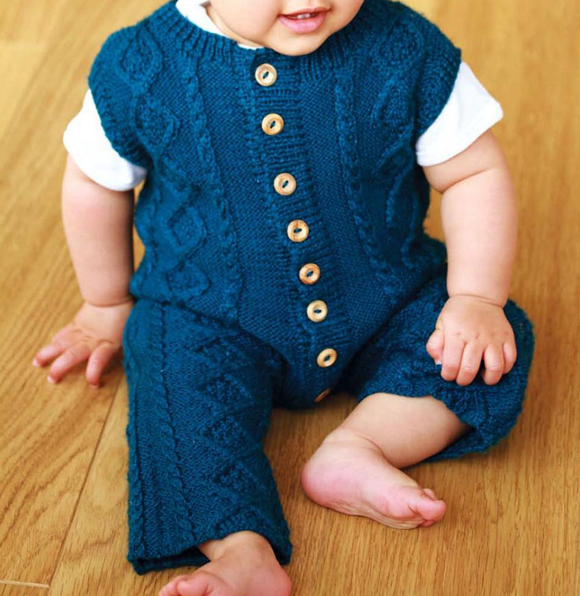 Baby Boy Dungarees Knitting Pattern : Baby dungarees knitting pattern