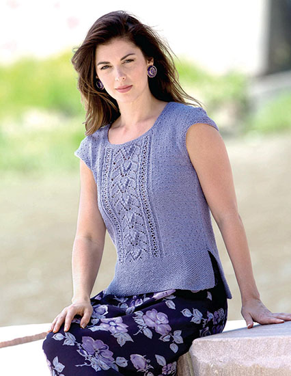Knitted top for women