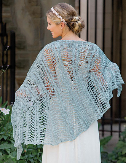 Shawl knitting pattern free