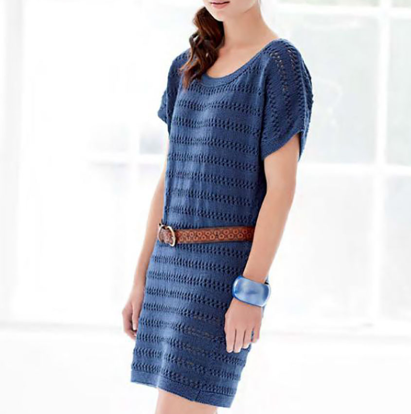 Dress knitting pattern free