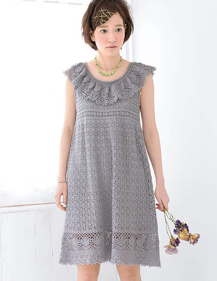 Dress crochet pattern free