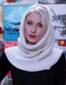 Hood knitting pattern