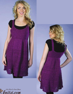 Dress crochet pattern