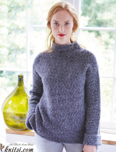 Sweater knitting pattern
