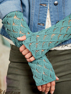 Gloves knitting pattern