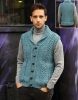 Sleeveless jacket knitting pattern