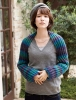 Free knitting pattern scarf-shrug