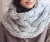Cowl knitting pattern free