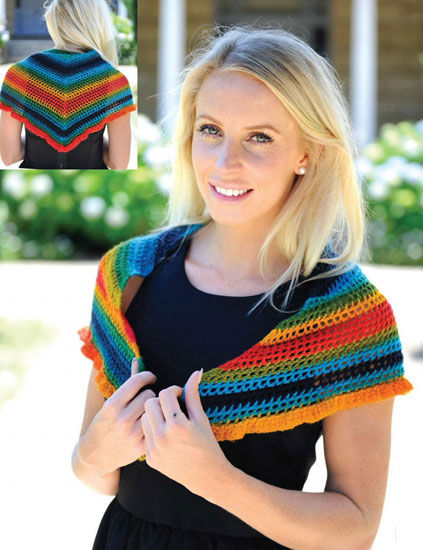 Neckerchief crochet pattern