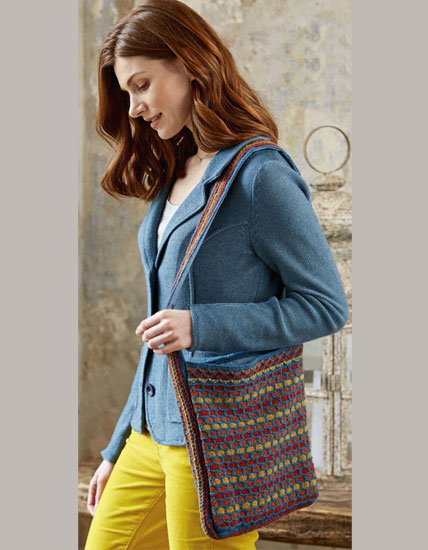 Bag knitting pattern