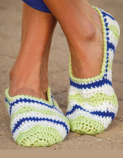 Women's slippers crochet pattern