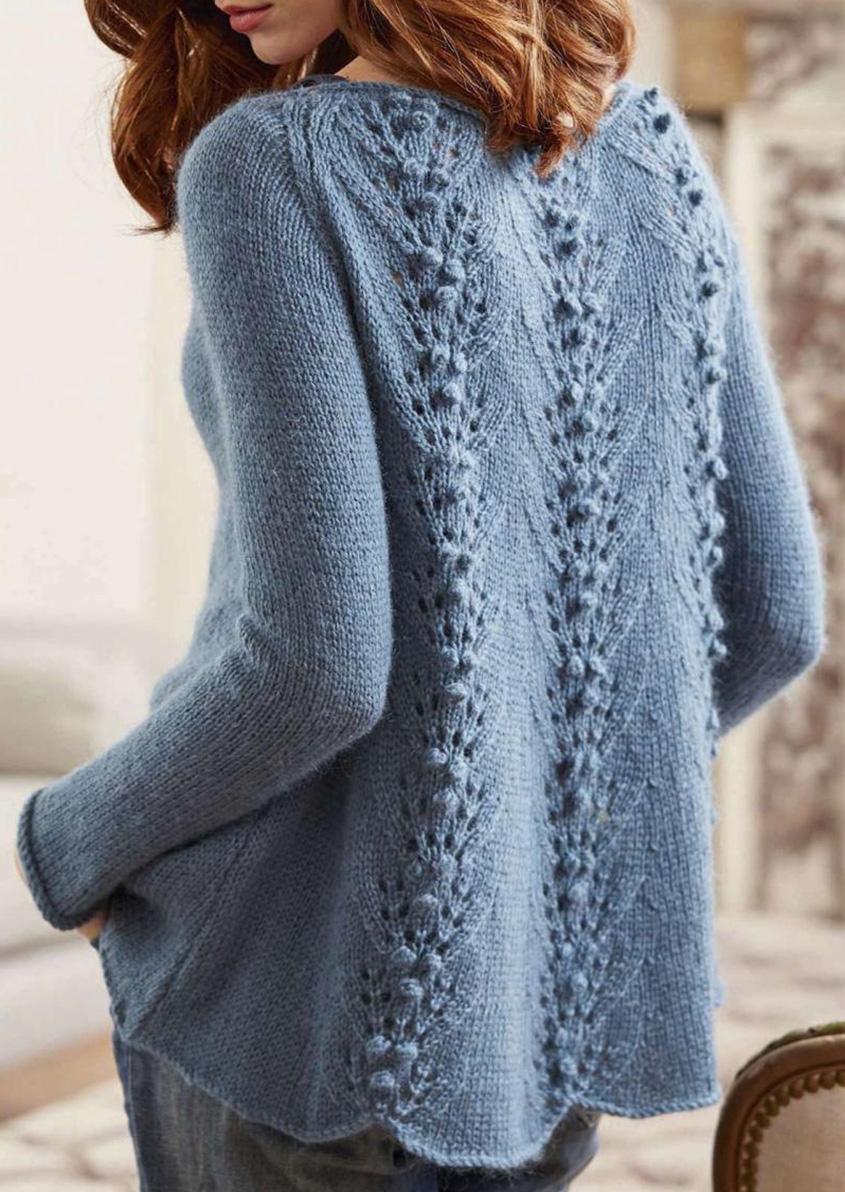 Raglan sweater knitting pattern free