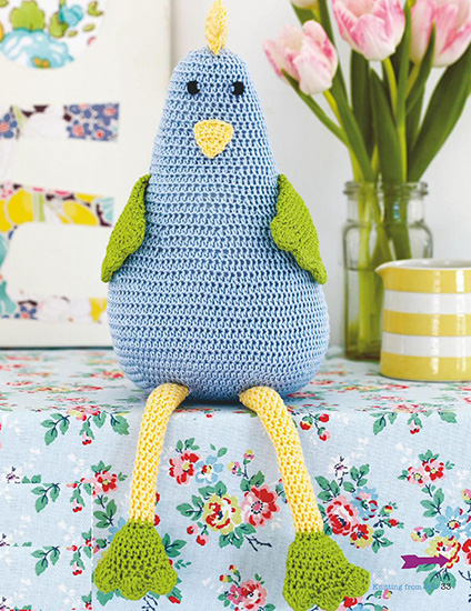 Easter Hen crochet pattern