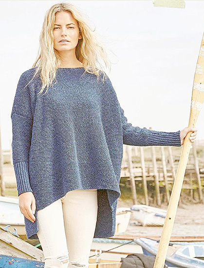 Women's jumper knitting pattern