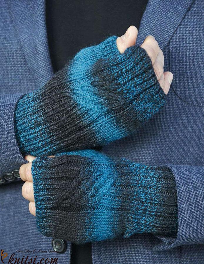 Mens Mitts Knitting Pattern Free