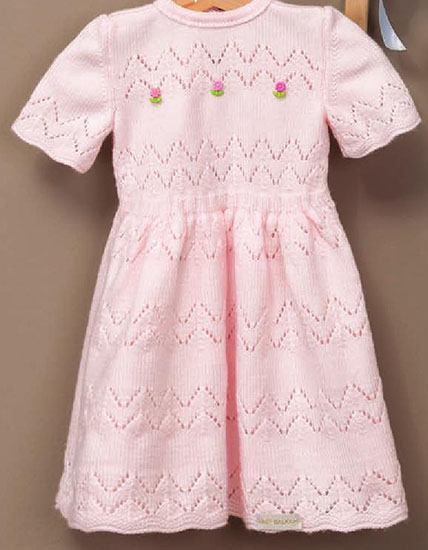 Children's dress knitting pattern