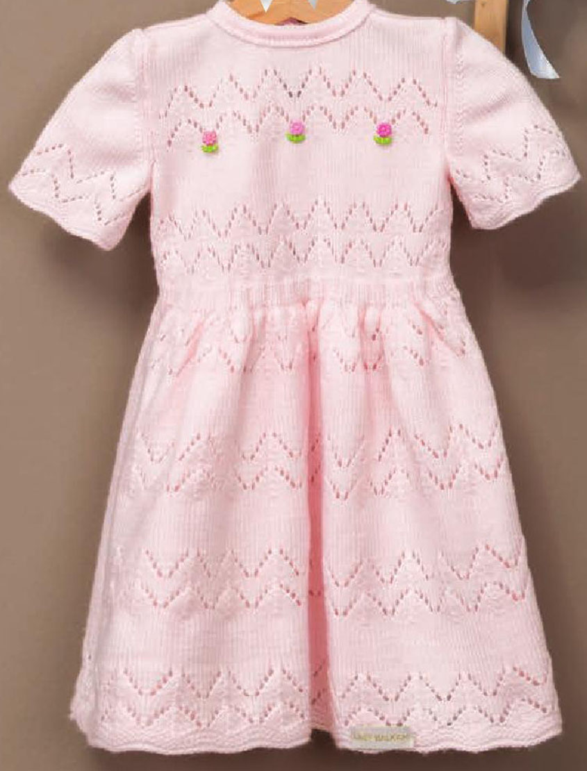 Children\'s dress knitting pattern free