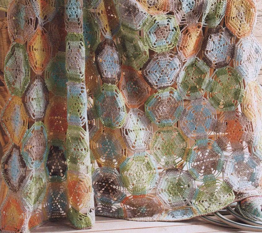 Circles Afghan Crochet Pattern