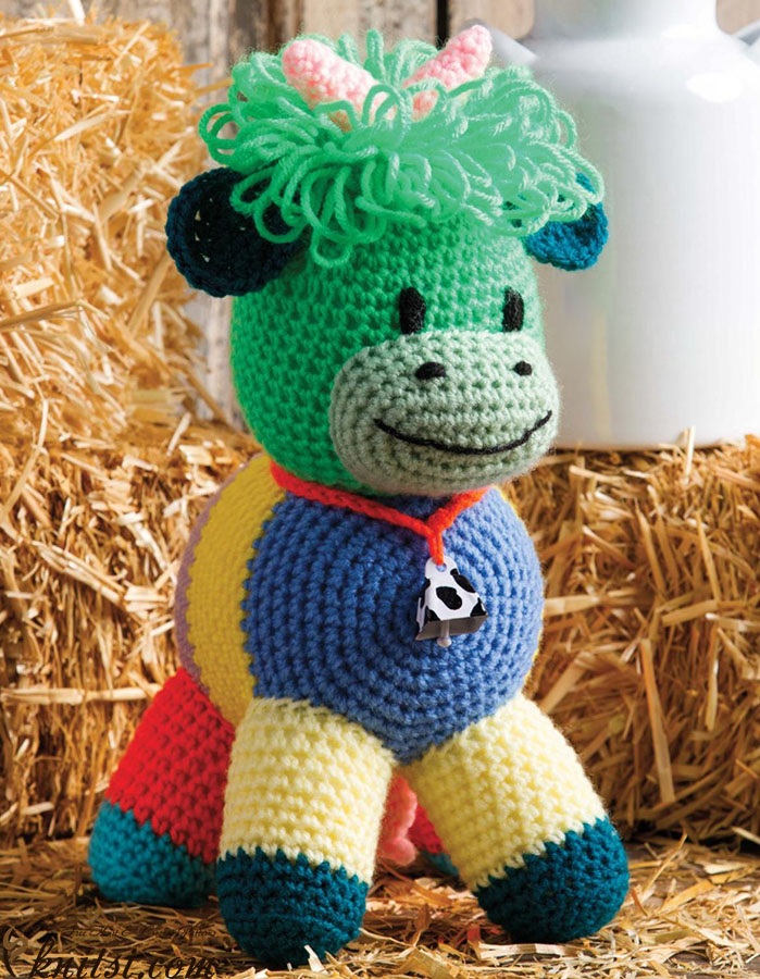 Crochet Cow Pattern Free