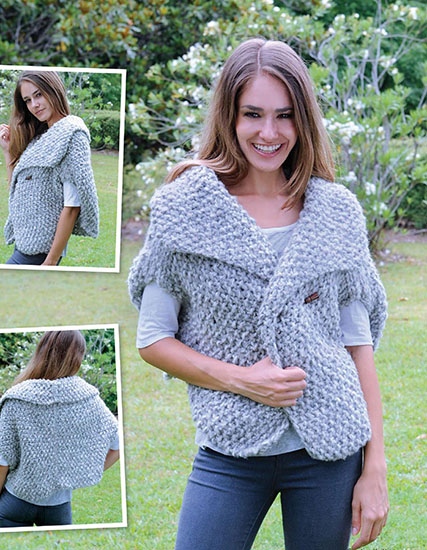Free Vests Knitting Patterns