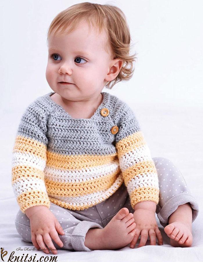 baby raglan pullover crochet pattern. Black Bedroom Furniture Sets. Home Design Ideas