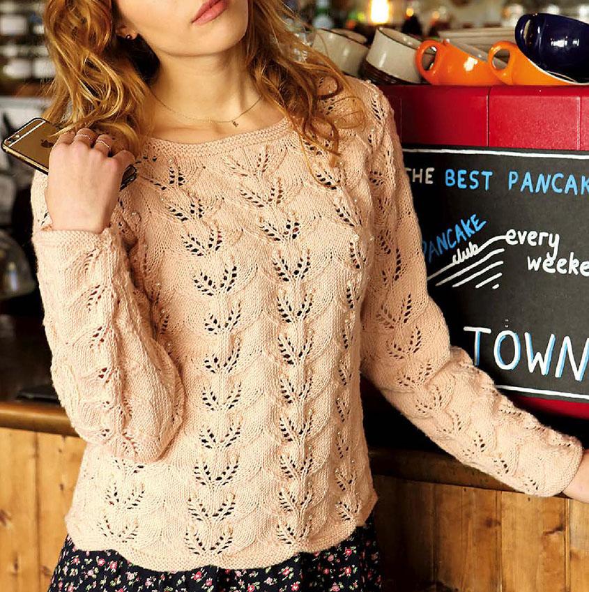 Lace Sweater Knitting Pattern
