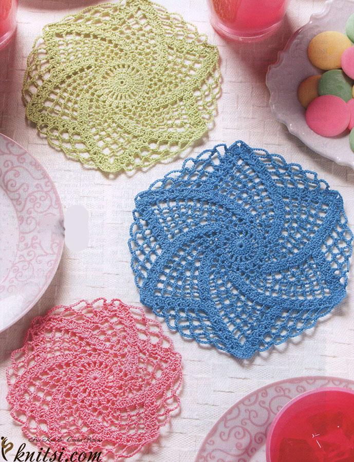 Crochet Lace Doilies Patterns Free