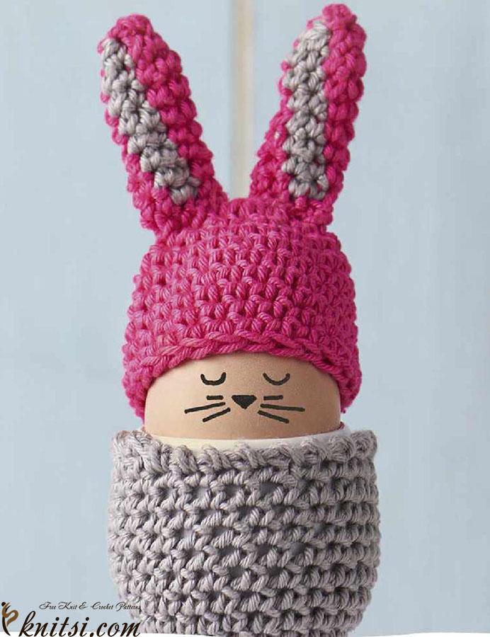 Crochet Egg Cosy Free Pattern