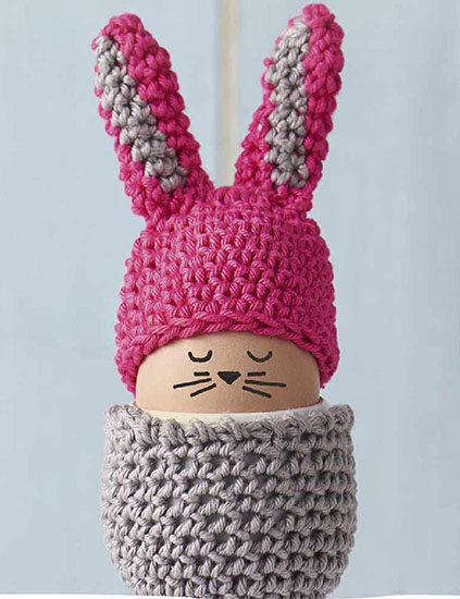 Egg cosy crochet pattern