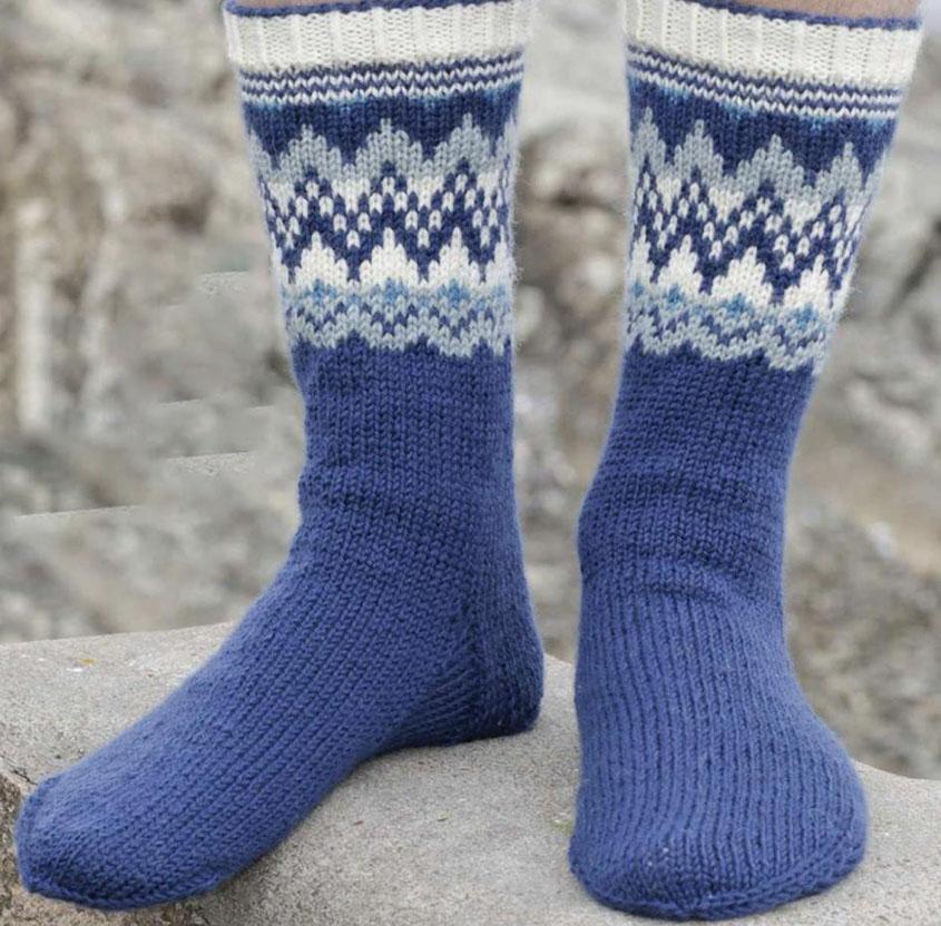 Men\'s scandi-style socks