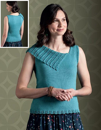 Women's top knitting pattern