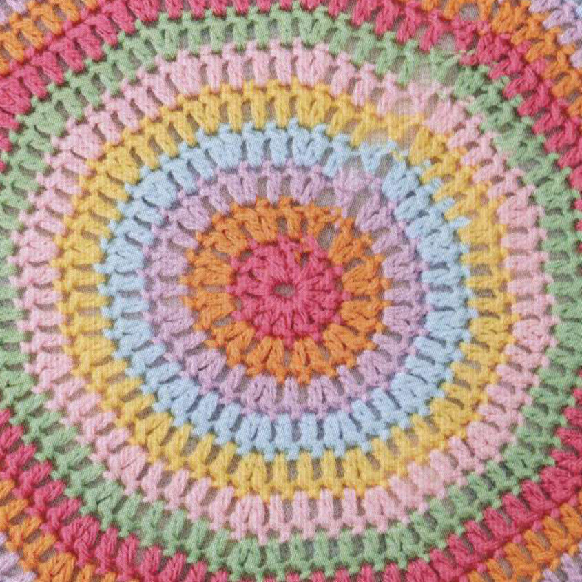 Circular Floor Pillow Crochet Pattern