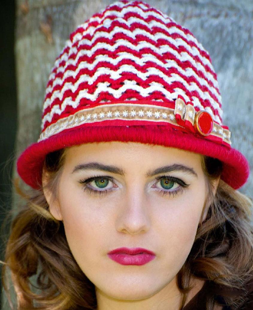 Cloche hat crochet pattern crochet cloche hat pattern dt1010fo