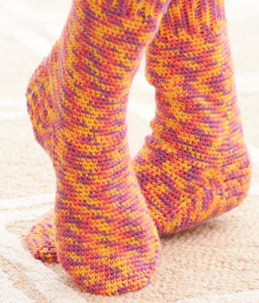 Fancy Sock Crochet Pattern Pattern - Decke Stricken Muster ...