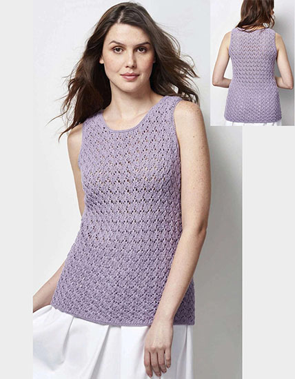 Vest top knitting pattern